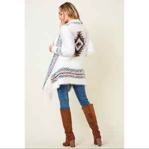 Open Long Sleeve Cardigan